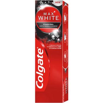 Tandkräm Max White Charcoal 75ml Colgate