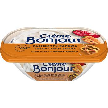 Färskost Rostad paprika Laktosfri 200g Creme Bonjour
