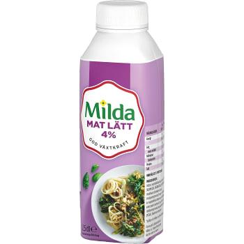 Matlagningsgrädde Mat 4% 2,5dl Milda