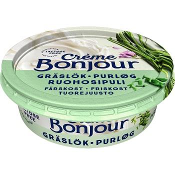 Färskost Gräslök laktosfri 100g Creme Bonjour