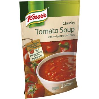Tomatsoppa med Röd paprika & basilika 2 portioner 570ml Knorr