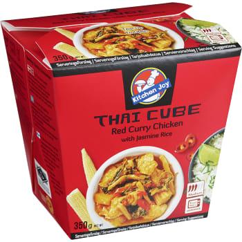 Thai Cube Red curry 350g Kitchen Joy