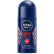 Deodorant Dry impact Roll on 50ml Nivea Men