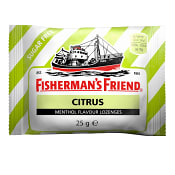 Halstabletter Citrus Sockerfri 25g Fisherman's Friend