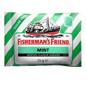 Halstabletter Mint sockerfri 25g Fisherman's Friend