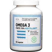 Omega-3 Forte 70% 90st ICA Hjärtat