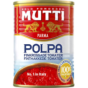 Finkrossade Tomater Polpa 400g Mutti