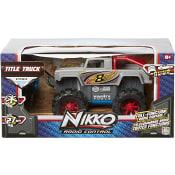 Bil Radiostyrd Title Truck Silver NIKKO