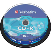 CD-R 700MB 52X 10-p Verbatim