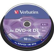 DVD+R DL 10-p Verbatim