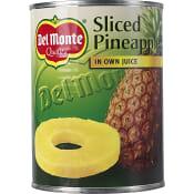 Ananasskivor i juice 560g Del Monte