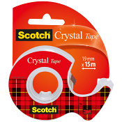 Tejp Klar 19mm Crystal Scotch