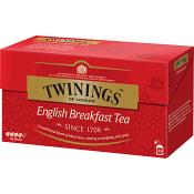 English breakfast te 25-p Twinings