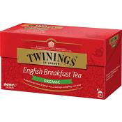 Te English Breakfast 25-p KRAV Twinings