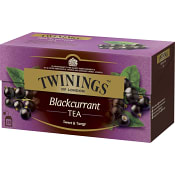 Blackcurrant te 25-p Twinings