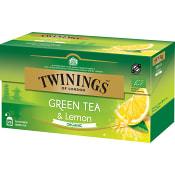 Grönt te Citron Ekologisk 25-p Twinings