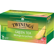 Grönt te Mango & lychee 25-p Twinings