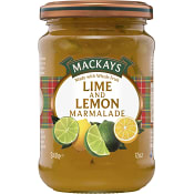 Lime & Citronmarmelad 340g Mackays