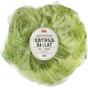 Isbergssallat ca 440g Klass 1 ICA