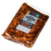 Spareribs smokey ca 1,2kg ICA