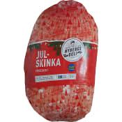 God julskinka Kokt & benfri ca 3kg Nybergs Deli