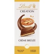 Chokladkaka Creation crème brûlée 150g Lindt