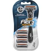 Flex & easy Rakhyvel 4-p Bic