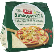 Surdegspizza 400g POP! Bakery