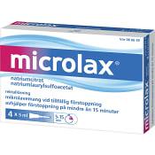 Microlax Rektallösning 5ml 4-p