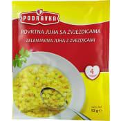 Grönsakssoppa 52g 4-p Podravka