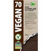 Choklad Mörk Vegan Glutenfri Ekologisk 100g Greenstar
