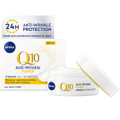 Q10 plus Anti wrinkle Moisturizing Day cream Spf 15 50ml Nivea