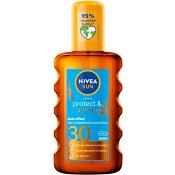 Solskydd Protect & Bronze vattenfast SPF30 200ml Nivea