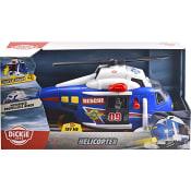 Helikopter med ljud och ljus Dickie Toys
