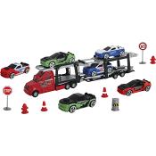 Transportbil med 6 bilar Dickie Toys