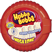 Tuggummi Snappy Strawberry Mega long  56g Hubba Bubba