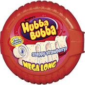 Tuggummi Snappy Strawberry Mega long  56g Hubba Bubba