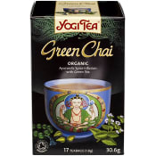 Green chai 17-p KRAV Yogi Tea