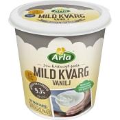 Kvarg mild Vanilj laktosfri 1000g Arla
