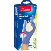 Handskar Multi sensitive Lila M/L Vileda