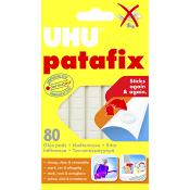 Häftmassa Patafix 80 bitar UHU