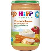 Risotto milanese & kyckling Från 12m Ekologisk 250g Hipp
