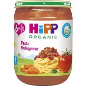 Pasta bolognese Från 6m Ekologisk 190g Hipp