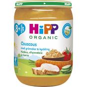 Couscous grönsaker & kyckling Från 8m Ekologisk 190g