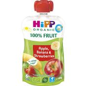 Smoothie Hippis Äpple & banan 6mån Ekologisk 100g Hipp