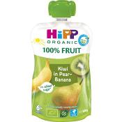Smoothie Hippis Päron banan & kiwi 6mån Ekologisk 100g Hipp