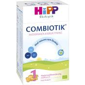 Modersmjölkersättning Combiotik 1 Från födsel Pulver Ekologisk 600g Hipp