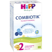 Tillskottsnäring Combiotik 2 Pulver Från 6mån Ekologisk 600g Hipp