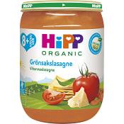 Grönsakslasagne Från 8m Ekologisk 190g Hipp
