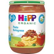 Pasta bolognese Från 8m Ekologisk 190g Hipp